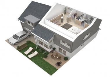 Create A Fastest  3D Floor Plan