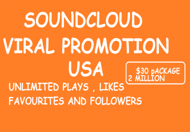 800 Followers+ 1.6 Million Plays  Soundcloud Deal in 7 Days