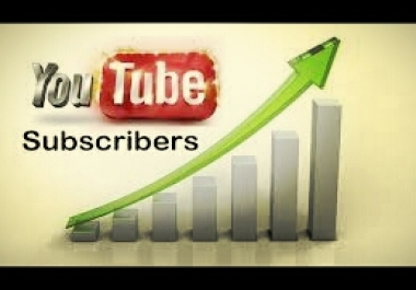 give you 350 Manually NonDrop YouTube Subscribers + 10 Custom Comments