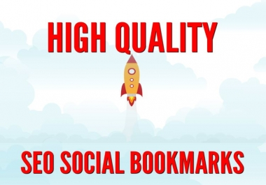 PREMIUM 1000 SEO Social Bookmarks to improve your website on SERPs