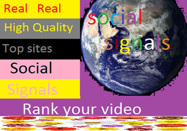 3000 real high quality seo social signals,best search ranking