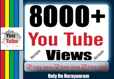 Add 8000+ High Quality Views Fully safe Instant start