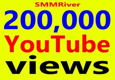 Fast 200,000+ Views High Retention 99% Ad-sense Safe & Non Drop