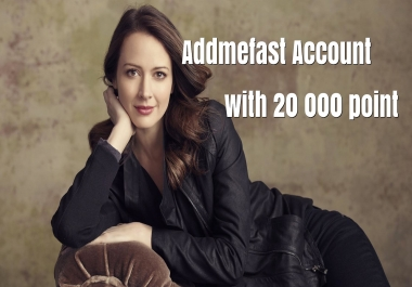 Refill/New 20 000 addmefast Account WITHIN 24 HOUR