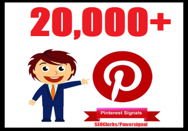 Bumper offer 20,000+ Pinterest USA Social Signals Life Time Benefit To Skyrocket Your Website SEO Traffic & Shares Bookmarking & Affiliate Marketing & Business Promotion Google Ranking