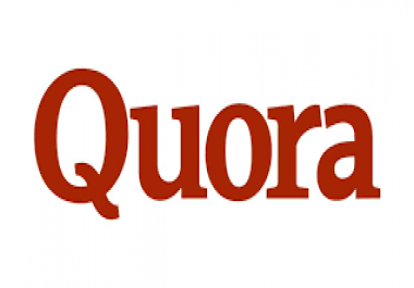 promote your website by 30 you high quality Quora answer posting with backlink