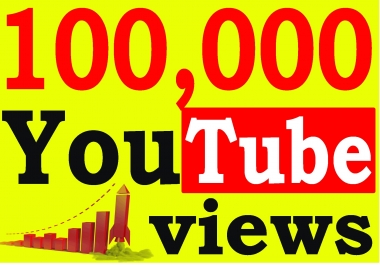Fast 100,000+ Adsense Safe HQ Retention 99 YouTube Views Non Drop