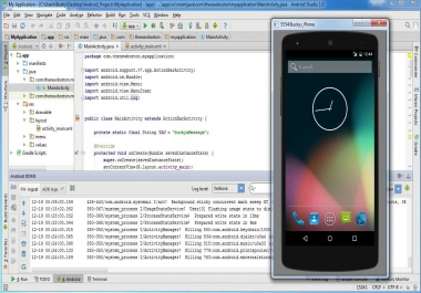 Android application for mobile and TV