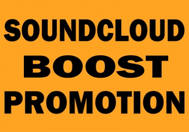 SoundCloud Boost - 100 followers, 100 likes, 100 reposts