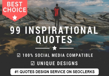 Create 100 Inspirational Image Quotes With LOGO In 24h
