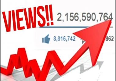 Get 2000+ Real Human YouTube High Retention Views