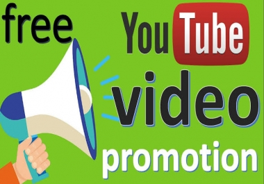Guaranteed 30+ Youtube promotion Fast Non Drop