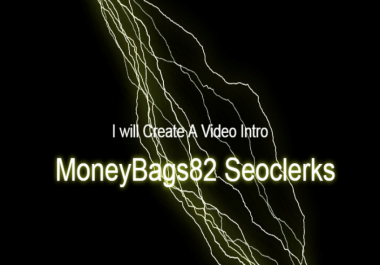 Create You A video Intro For You With Sound And Title Caption