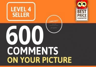 Instant Start 600+ HQ Comments NON DROP