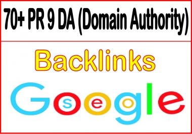 Create 100 backlinks pr9 ( DA70 )