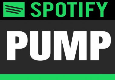 Spotify Pump - build a fan base (+1000)