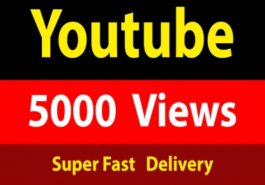 instant 5000 Vieews Fully Safe Fast Delivery
