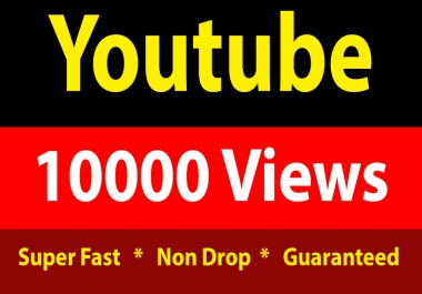 instant 10,000 Youtube Vieews Fully Safe