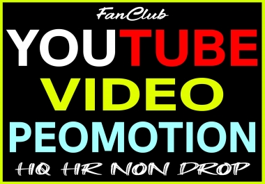 Super Fast YouTube Video Marketing and Promotion Guarantee