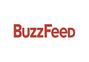 I will write and publish a guest post on BUZZFEED