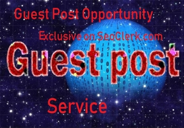 Guest Posting Package for any niche on 10 Reputable Sites