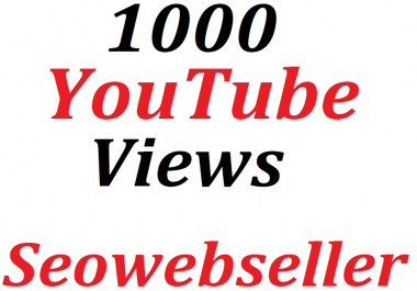 Bumper offer 1,000 HQ You-Tube Vie/ws In Your Video