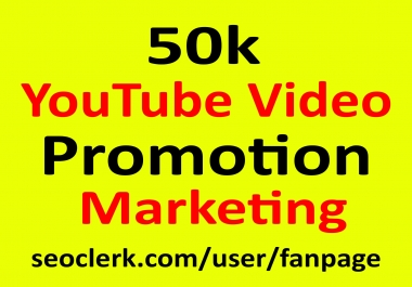 YouTube Video Promotion & Marketing Active Audience