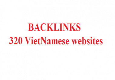 Post to 320 Vietnamese websites, with .vn domain name