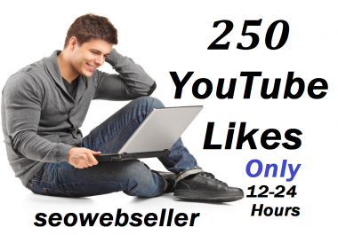 Give you 250+ youtube likes on your video just