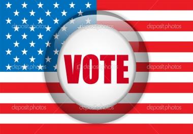 Get 10 any kind of registration votes ASAP