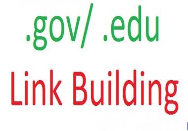 10 .gov / 10 .edu Link Building