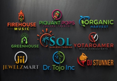 Design Very High Professional Modern Logo Design