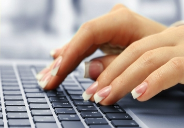 Do TYPING Job accurately
