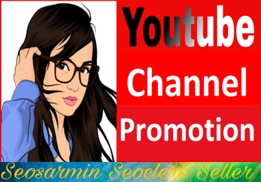 Manually Channel Promotion Non drop Guaranteed And Instant Start