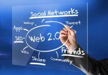 Create 25 High PR Authority Web2 Blog With login details
