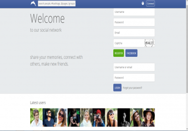 Provide You With Social Network Website And Install on Your Host