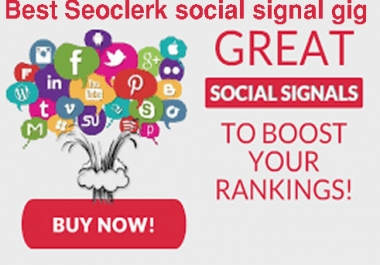 give you 11,000 HQ Social Signal real and manually to website improving