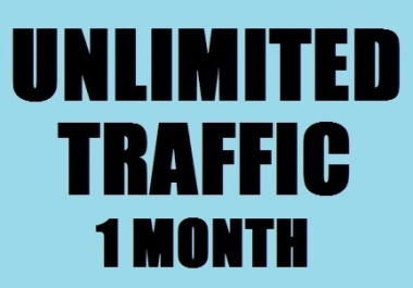 Daily 100-200 real traffic Worldwide for ONE MONTH