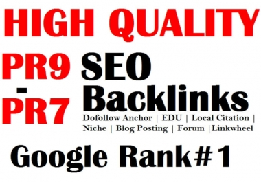do 200 profile backlink with high quality site by 5$