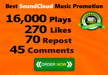 16000 Plays 270 Likes 70 Repost 45 Comments