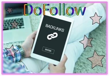 Get you 1800 DoFollow PR1-8  Backlinks