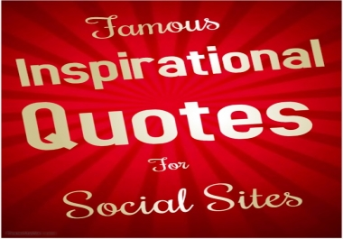 50,000 Inspirational Quotes Images - For Social Sites