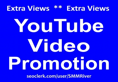 Fast Organic YouTube Video Promotion HQ Service