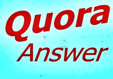 Create Unique 12  Quora answer with your website Keyword and URL