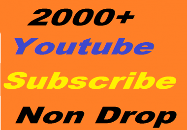 Safe 2000+ YouTube Subscribers Non Drop or 3000+ YouTube Likes Or 2400+ YouTube Auto Comment Give you