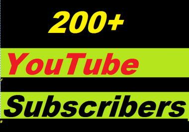 200+ YouTube subscrib.ers Guaranteed non drop Instant start