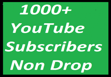 1010+ Youtube channel  subscribers or 1200+ youtube likes 200+Youtube Auto comment give you