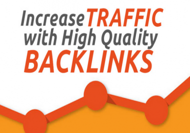 Get powerful 500+ backlinks then get fast traffic and index