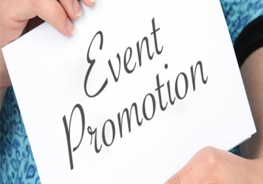 EVENT Promotion Video making