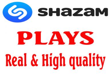 give 300 Shazam Plays